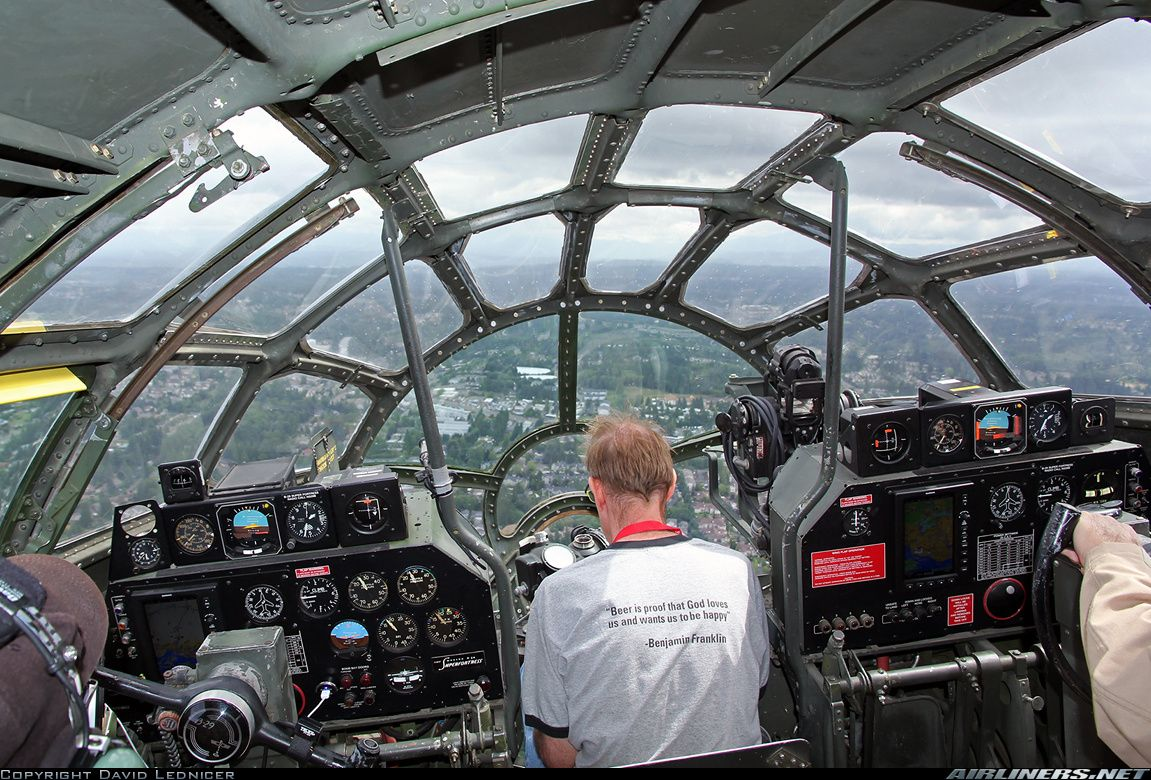 B29. A donation of about 5k gets you a oneoff flight up