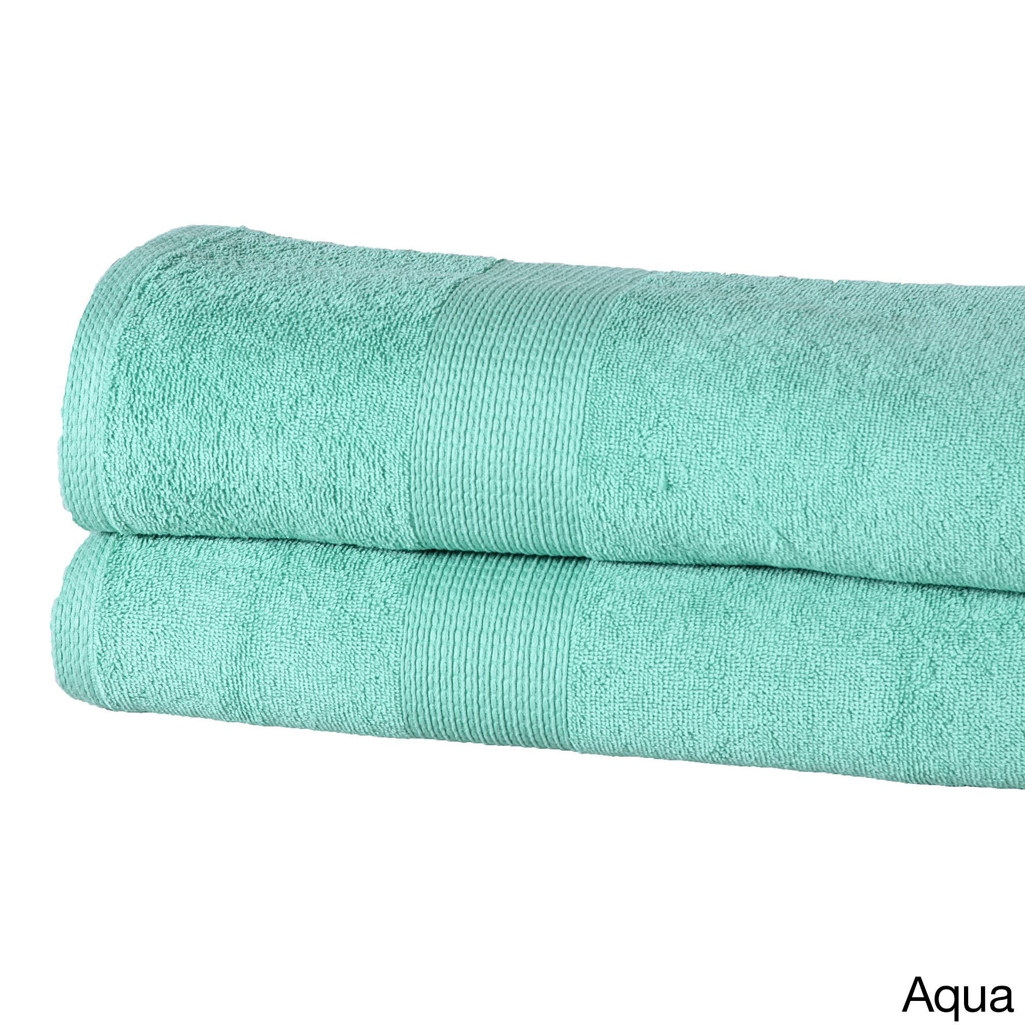 Oversized Bath Sheets Casa Platino Solidcolored Cotton 550 Gsm Oversized Bath Sheets Set