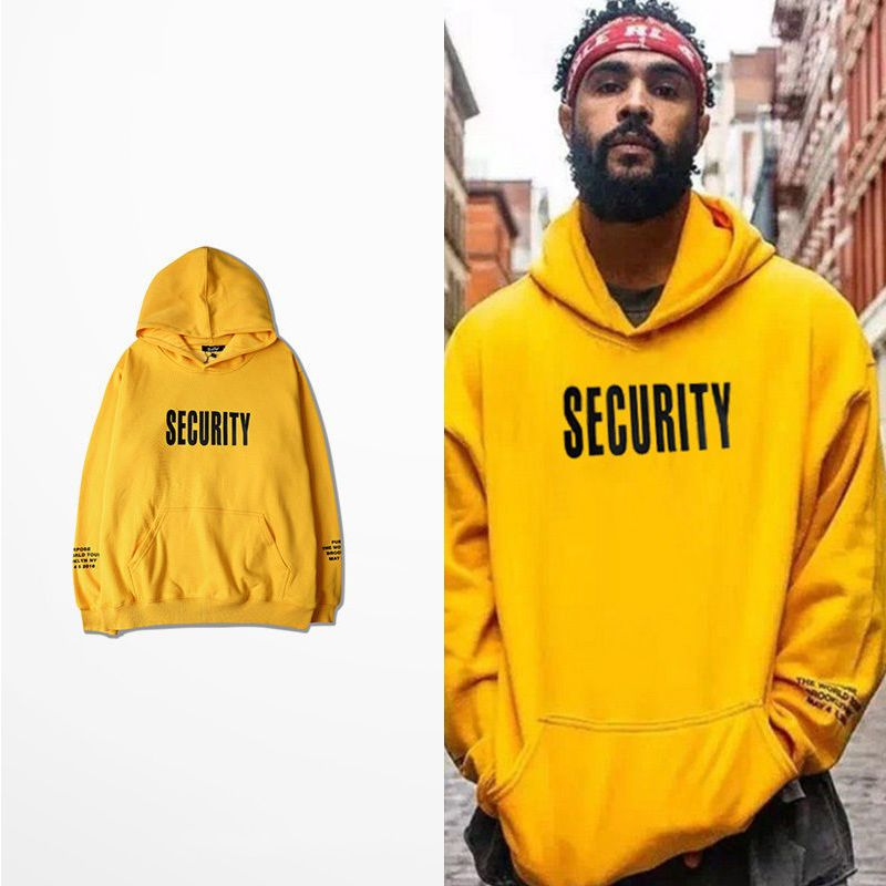 PURPOSE TOUR HOODIE security super rare SOLD OUT security hoodie justin  bieber