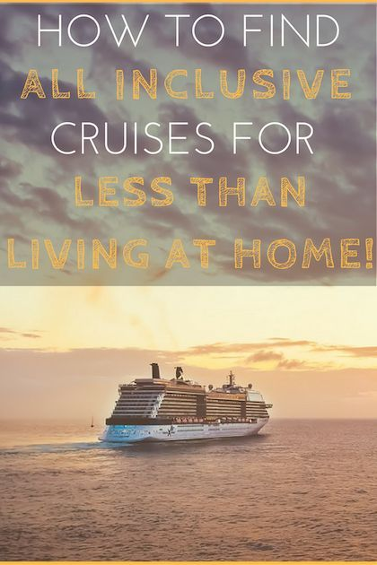 How To Find Cheap Cruises For Less Money Than Staying Home Would - Find cheap cruises