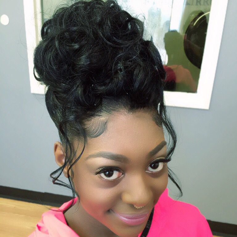 Prom Hair Black Hair Updo Hairstyles Hair Styles Black Girl Updo Hairstyles