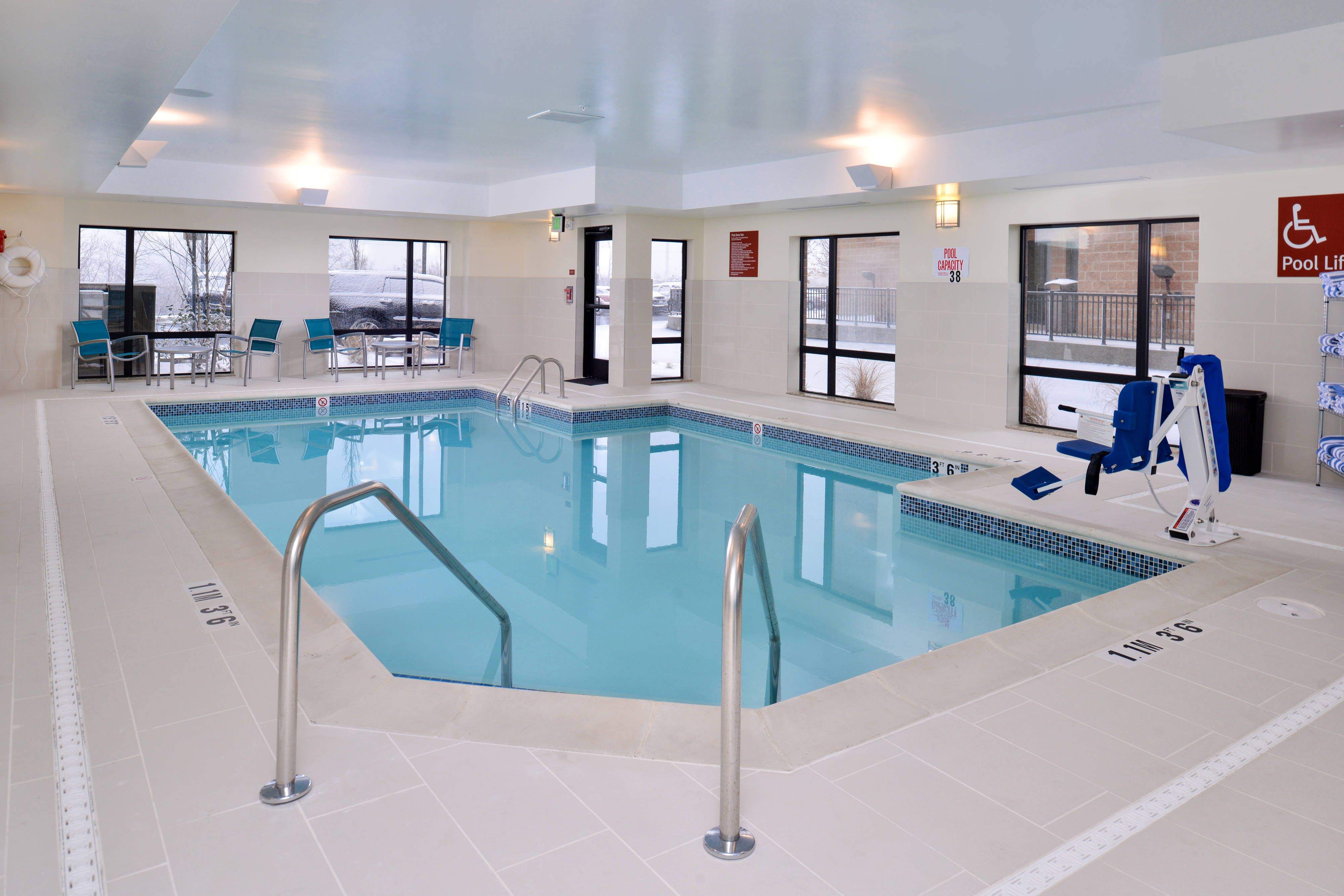 Towneplace Suites Detroit Commerce Indoor Pool Holidays Rooms