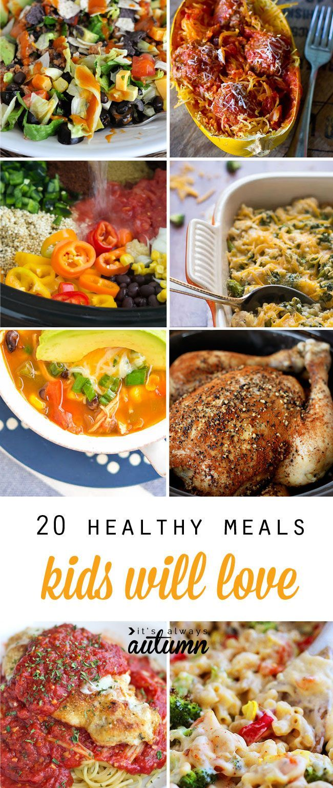 20 Healthy Easy Recipes Your Kids Will Actually Want To Eat Mommy