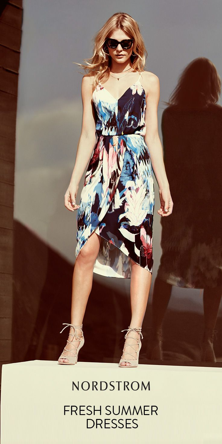 Nordstrom dresses wedding guest  Beautiful summer dresses from Nordstrom Great inspiration for guest