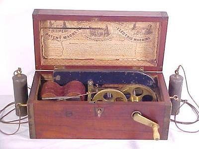 Antique 1850 S Davis Kidders Magneto Electric Machine