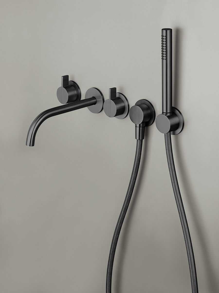 Pin Op Black Bathroom Taps Bycocoon Com Black Faucet