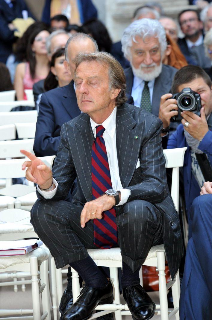 taglia 40 6b56d c6086 Luca Cordero di Montezemolo | Gessato blu | Vestiti eleganti ...