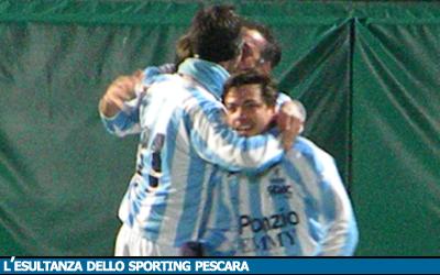16 A: SPORTING PESCARA - PESCARA COLLI 6-0