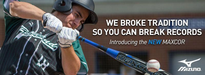 4a1332dc8671 The Mizuno Maxcor baseball bat is one of the most underrated models in the  game. With innovative technologies and catchy cosmetics, you won't find a  better ...