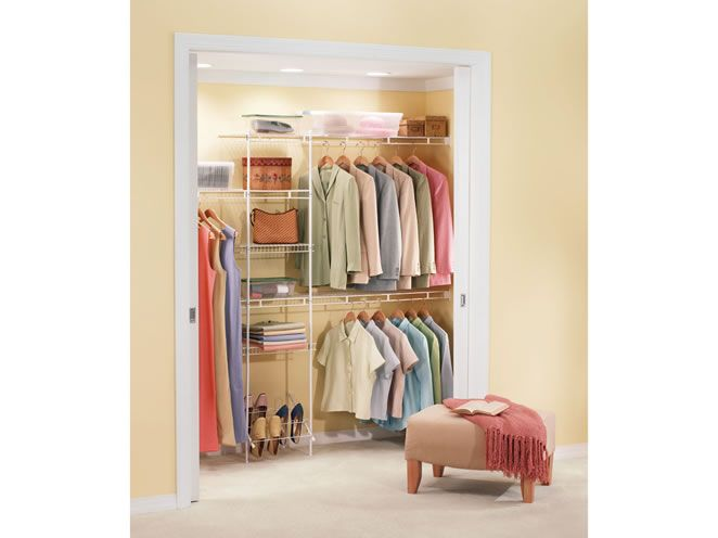 Organized Closet For Less