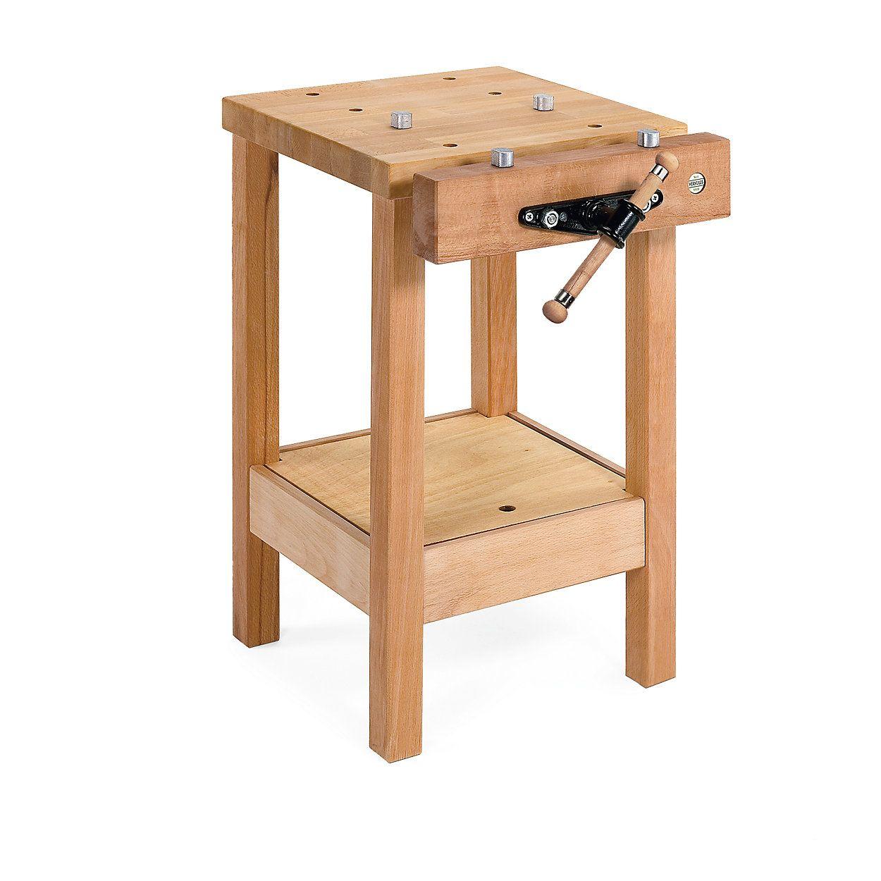 Hobelbank Buchenholz In 2020 Small Workbench Woodworking Bench Plans Diy Pallet Furniture
