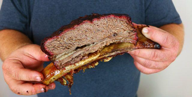 Smoked Beef Ribs Big Dino Bone Beef Rib Recipe Recipe Beef Ribs Smoked Beef Ribs Smoked Beef