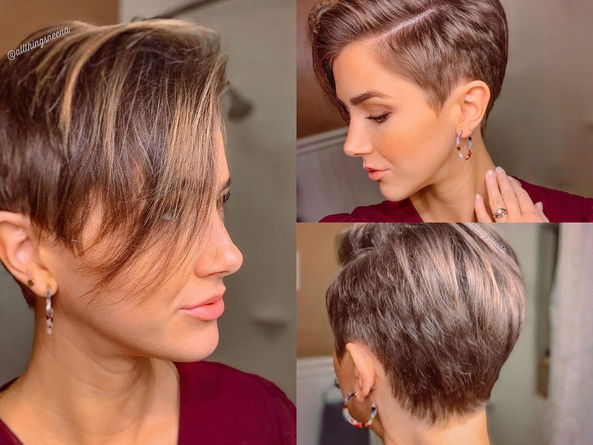Scheitel Bei Kurzen Haaren Kurzhaar Frisuren Frisuren Stil Haar Kurze Und Lange Frisuren Kurzhaarfrisuren Seitenscheitel Haar Styling