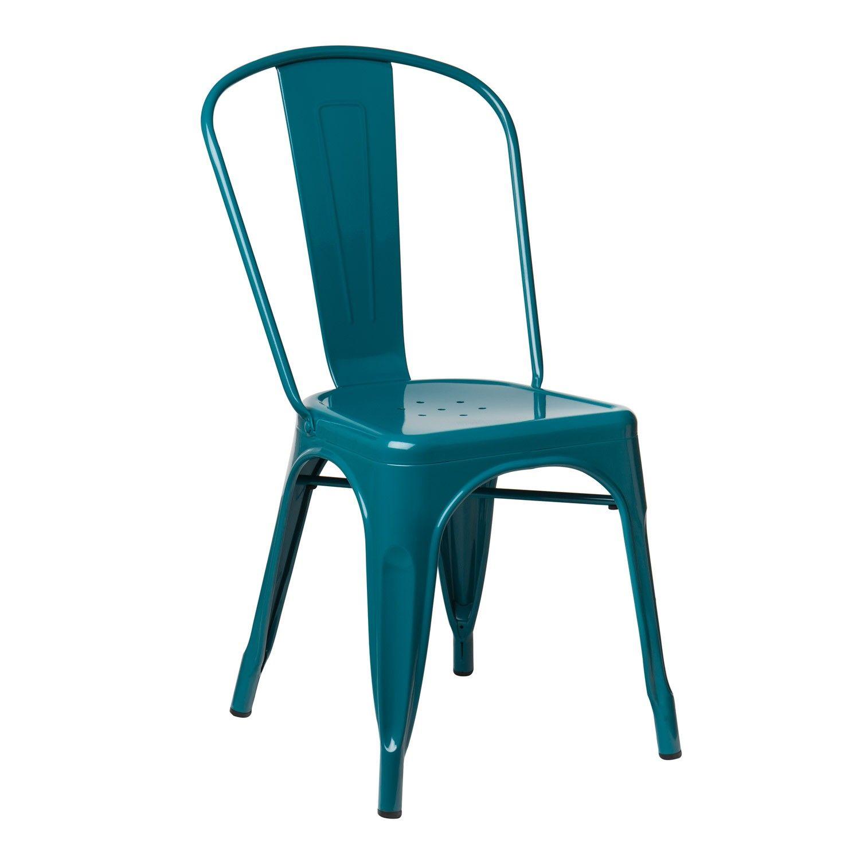 Chaise Lix Chaise Metal Meuble Rangement Exterieur Chaises Colorees
