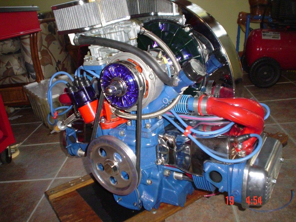 Dune Buggy Engine 1641 Lots Of Powder Coating