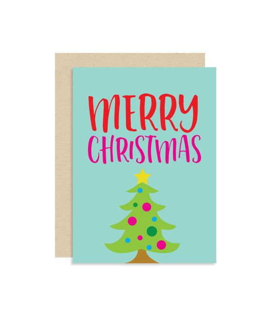 say merry christmas in a cute way with this colorful card inspired by the emoji christmas tree perfect for kids