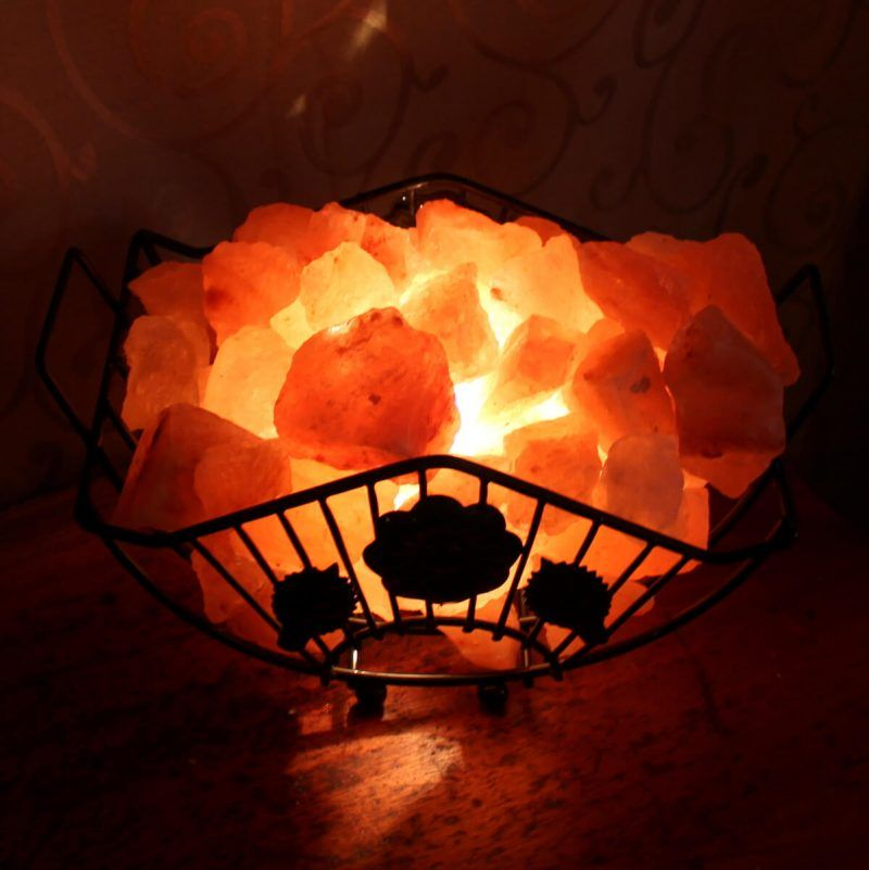 Rectangular Basket Fire Cage Rectangular Baskets Basket Himalayan Salt Lamp