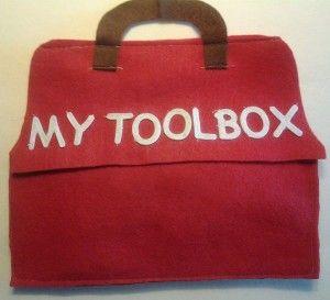 DIY Tool Box Quiet Book