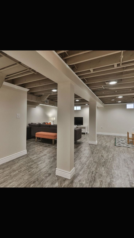 17 Amazing Unfinished Basement Ideas You Should Try Finishing Basement Walls Basement Design Basement Ceiling