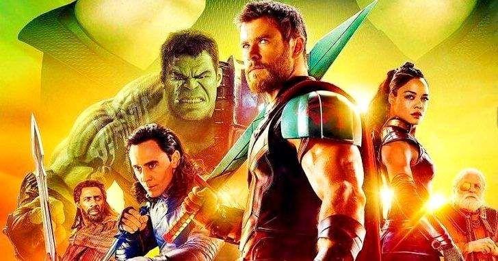 Thor Ragnarok Novo Poster Reune O Elenco Completo Do Filme