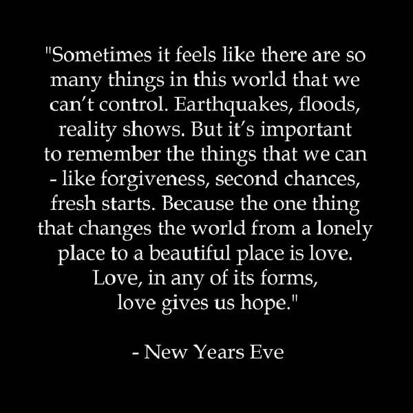 new year's quotes New Years Eve Movie Quotes