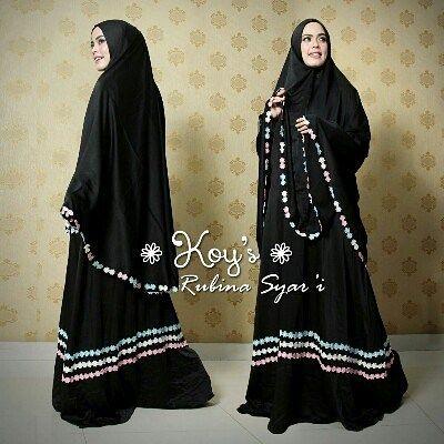 Rubina Syari By Koys Syar I Cantik Special Made For Umroh Or