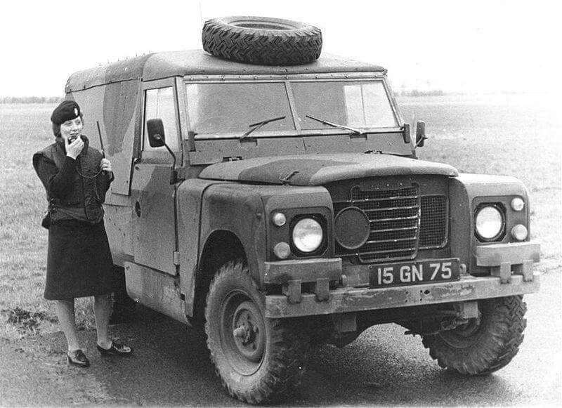 Land Rover 109 2.25 petrol G.S. VPK 'Piget' Ulster Defence Regiment