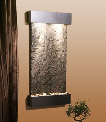 indoor waterfalls decor home decor idea interior design and for the ...