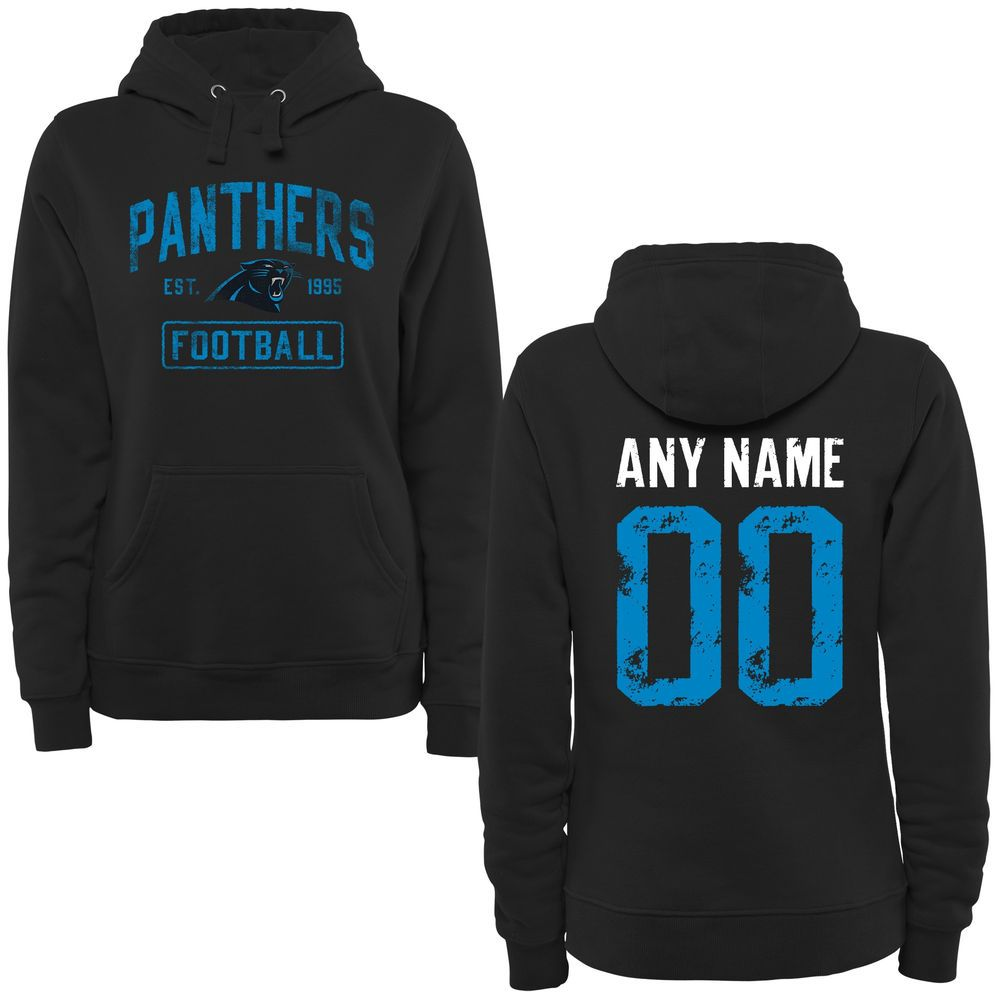 New Orleans Saints Logo Football Zip Up Hooded Sweatshirt with Custom Name