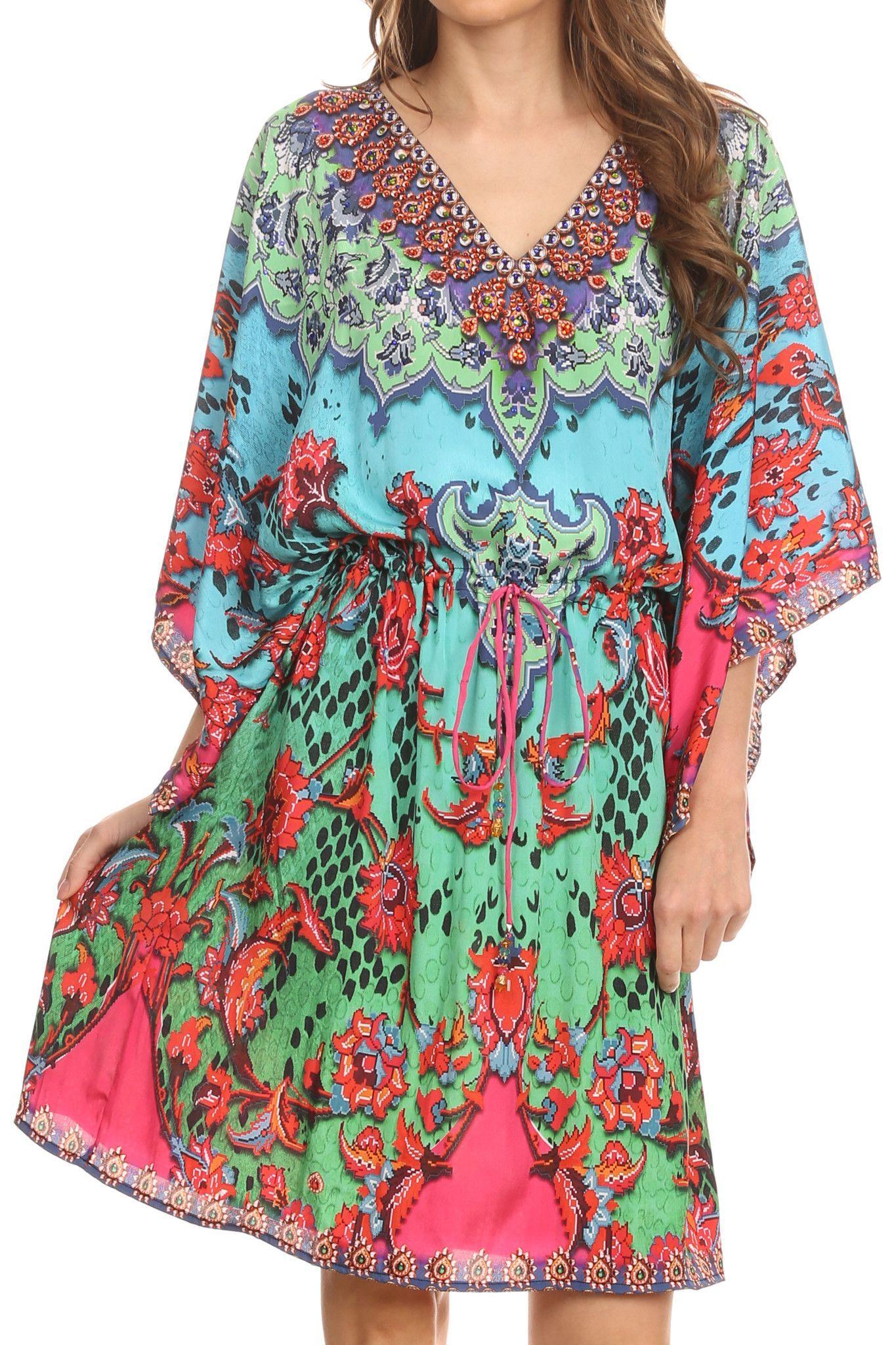 Recycled Fabric Elegant Dress Tunica Dress Night Wear Long Gown Hippie Kaftan Trendy Fashion Beach Wear Evening Dress Autumn Dress #52
