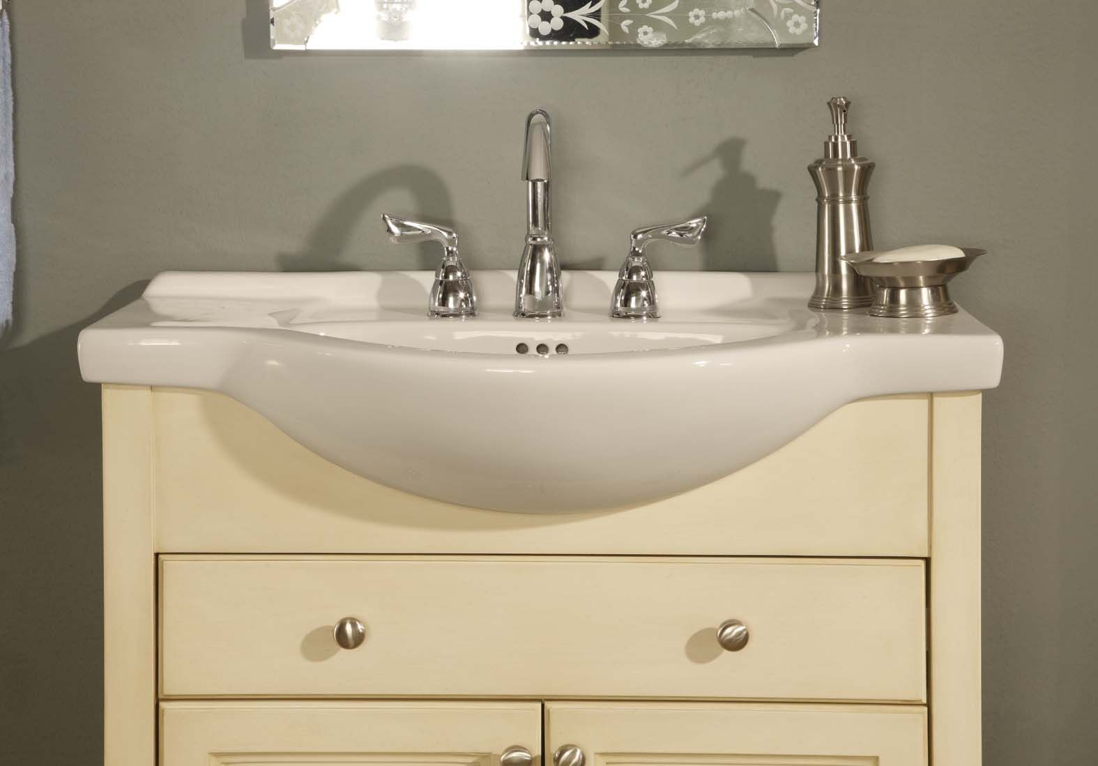 Shallow Depth Bathroom Sink Vanity In 2020 Home Depot Bathroom Vanity Small Bathroom Sinks Bathroom Sink Vanity