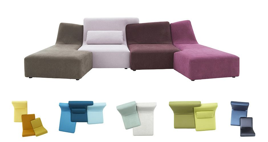 Awesome Confluences Sofa Set By Ligne Roset Modern Arm Chairs Los Pabps2019 Chair Design Images Pabps2019Com