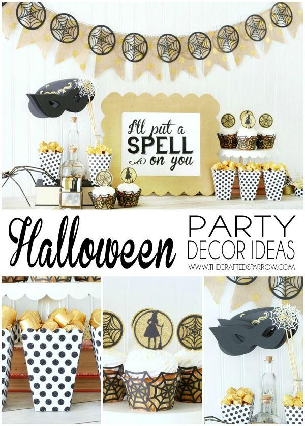 Easy Halloween Party Decor Ideas Halloween party decor, Easy - halloween party decoration ideas