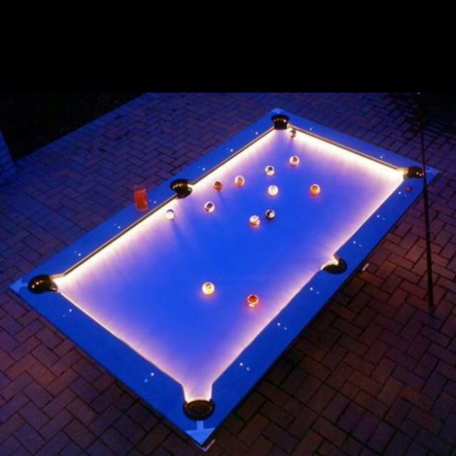 Outdoor Pool Table. Yes Please. Reddit.com