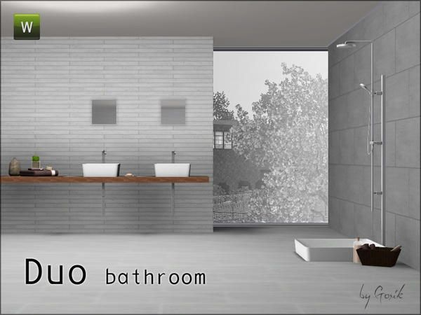 Gosiks Duo Bathroom