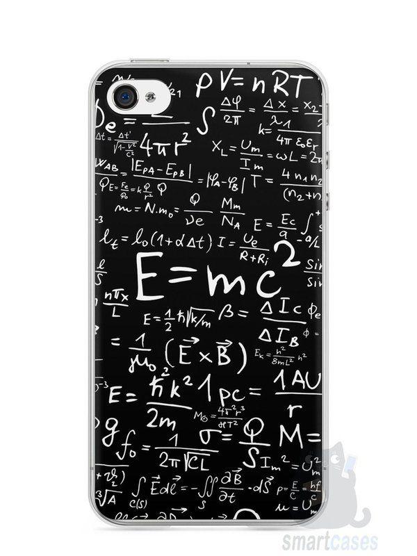 Capa Iphone 4/S Teoria da Relatividade Einstein - SmartCases - Acessórios para celulares e tablets :)