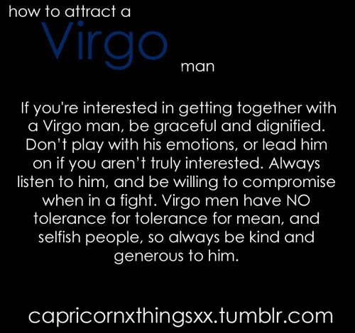 Attract virgo male