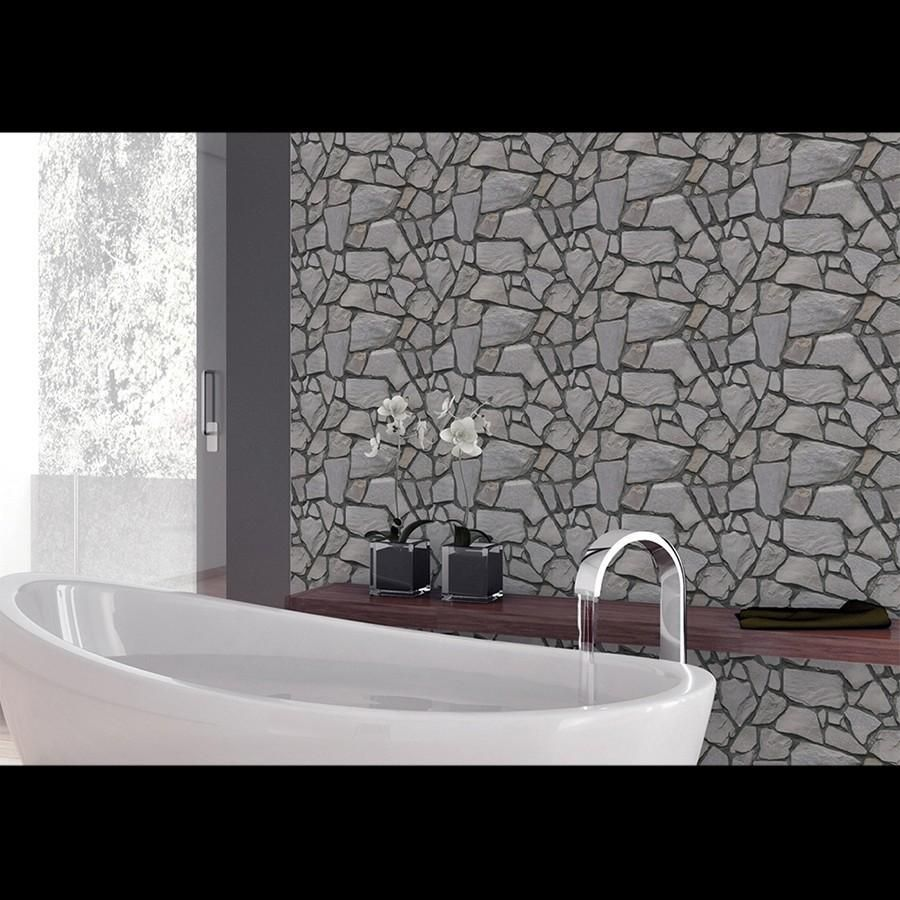 Self Adhesive 3D Wallpaper for Bathroom or Kitchen 3d