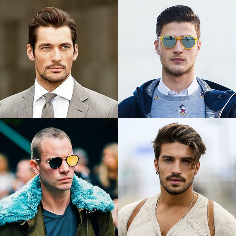 Hairstyles For Men According To Face Shape Fascinating Find The Perfect Hairstyle & Haircut To Suit Your Face Shape  Face