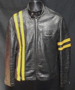 Vintage Cafe Leather Jacket