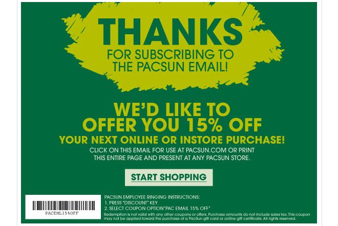 photo relating to Pacsun Printable Coupon referred to as Pac Sunshine coupon codes Printable Coupon codes Free of charge printable discount coupons