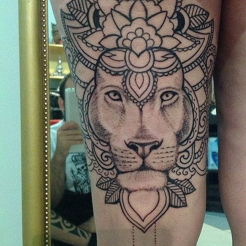 elio's faktory lion tattoo