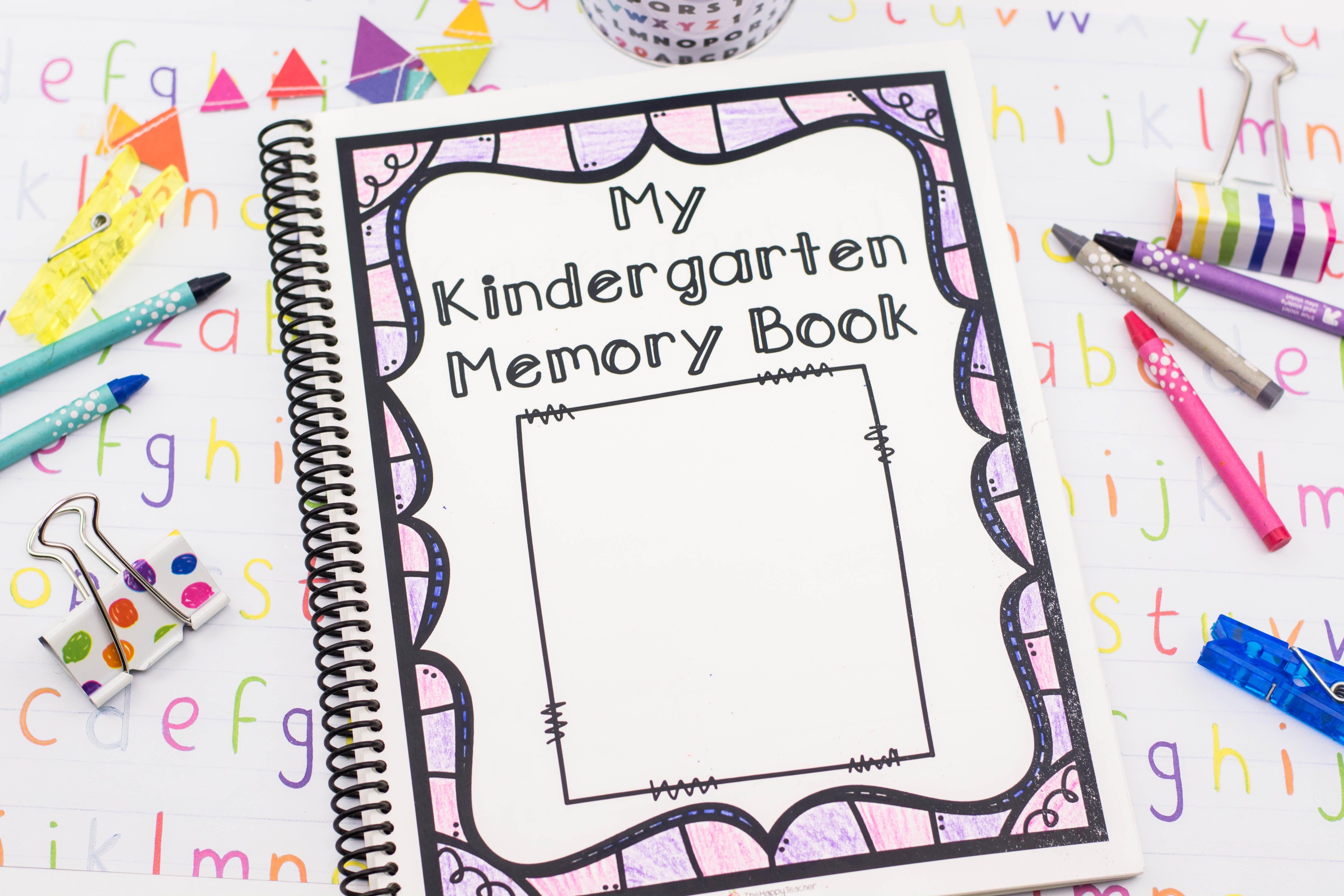 Kindergarten Memory Book Printer Friendly