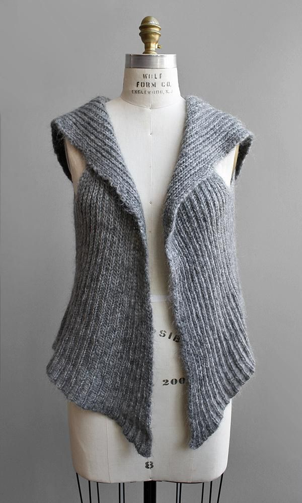 Knitted vest patterns free women images free patterns - 25 ...