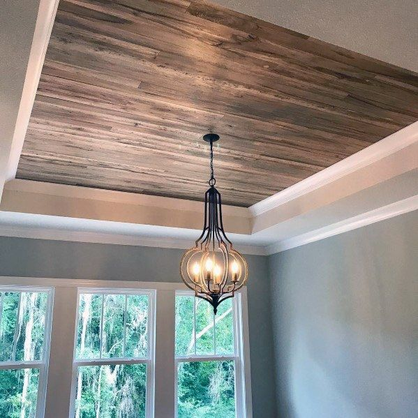 23 Dining Room Ceiling Designs Decorating Ideas: Top 60 Best Wood Ceiling Ideas