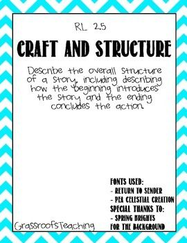 Craft and Structure  RL 2.5 $ @Megan Anderson