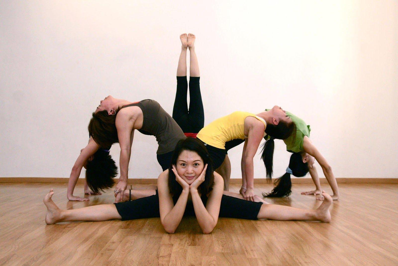 Nice Group Yoga Pose