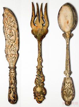 Wall Decoration Mystical Cutlery (3/Set)
