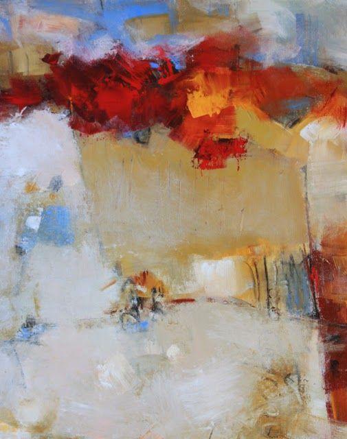 "Elizabeth Chapman, Radiant Acrylic on 24"" x 30"" x 1.5"" canvas"