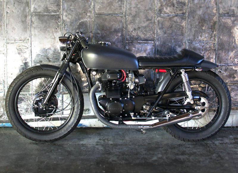 Honda CL350 1973 by Cerberus Motorcycles
